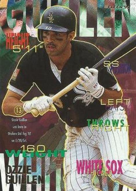 1995 Fleer #118 Ozzie Guillen VG Chicago White Sox