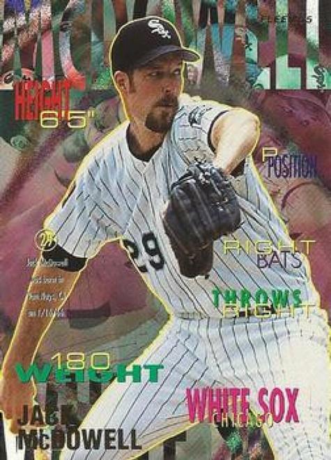 1995 Fleer #126 Jack McDowell VG Chicago White Sox