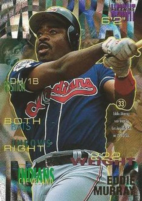 1995 Fleer #141 Eddie Murray VG Cleveland Indians