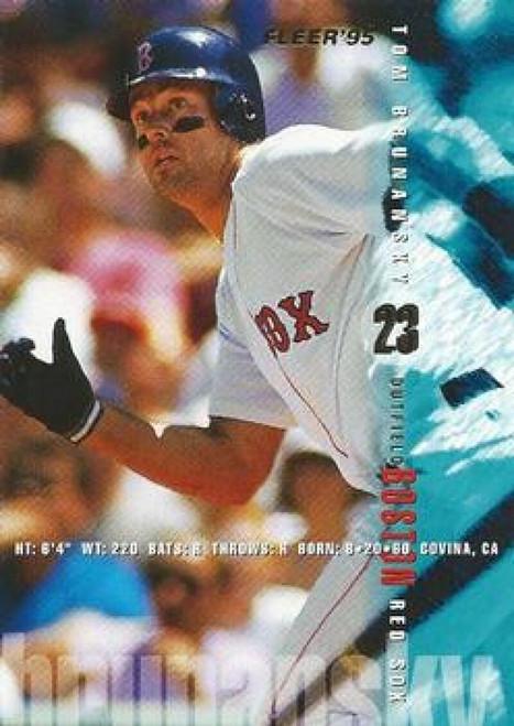 1995 Fleer #24 Tom Brunansky VG Boston Red Sox