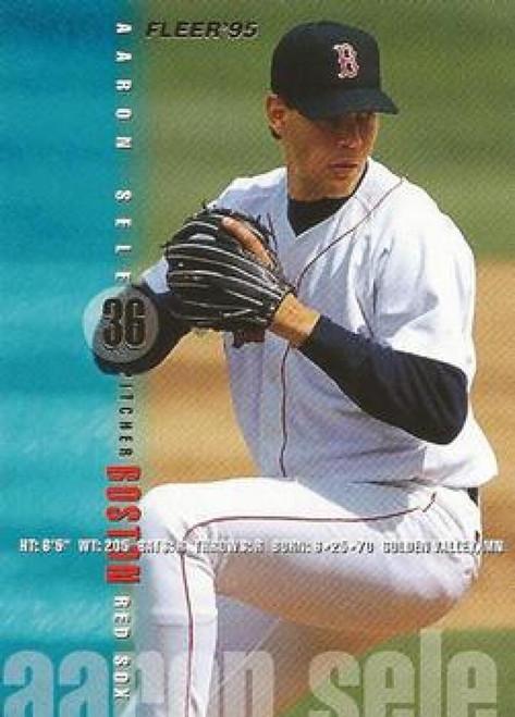 1995 Fleer #40 Aaron Sele VG Boston Red Sox