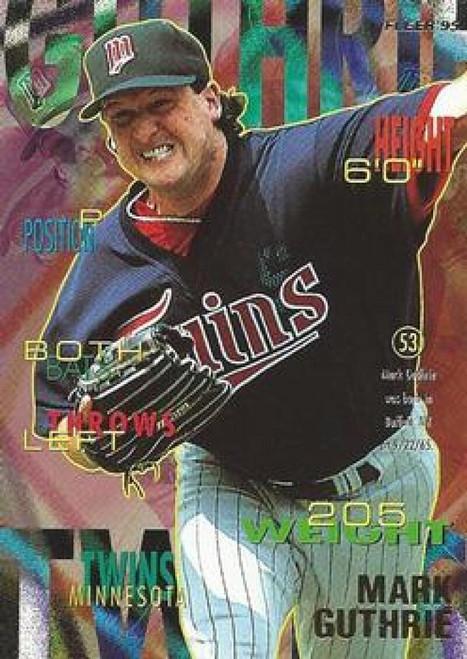 1995 Fleer #202 Mark Guthrie VG Minnesota Twins