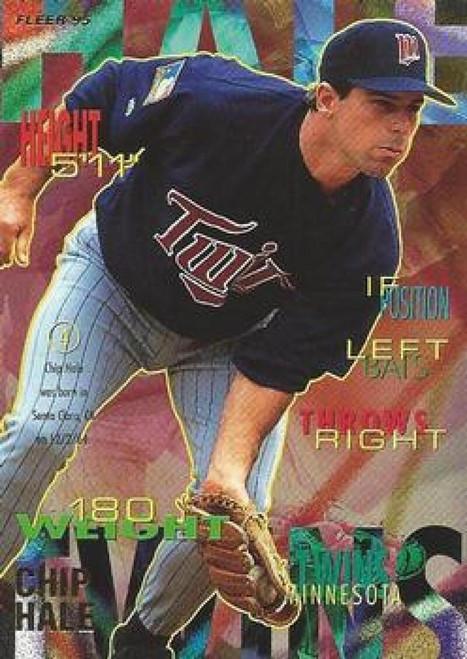1995 Fleer #203 Chip Hale VG Minnesota Twins