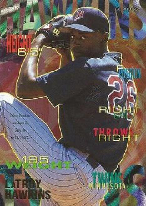 1995 Fleer #204 LaTroy Hawkins VG Minnesota Twins