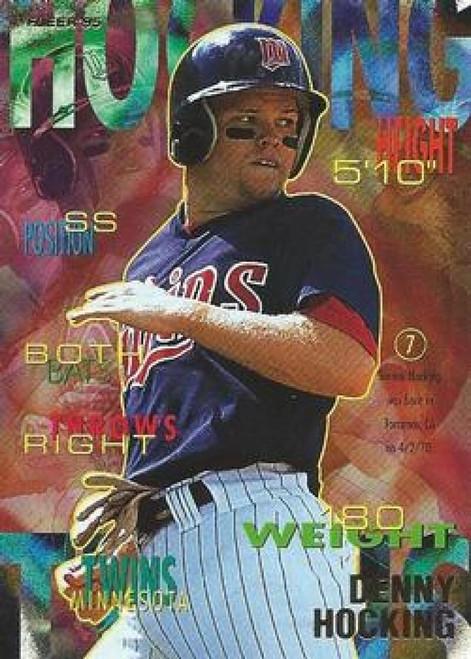 1995 Fleer #205 Denny Hocking VG Minnesota Twins
