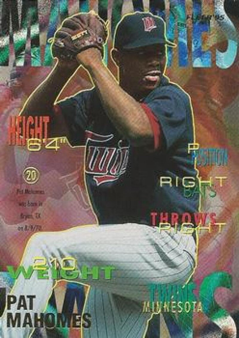 1995 Fleer #209 Pat Mahomes VG Minnesota Twins