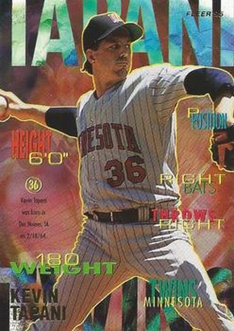 1995 Fleer #215 Kevin Tapani VG Minnesota Twins