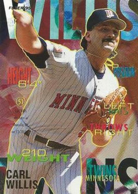 1995 Fleer #217 Carl Willis VG Minnesota Twins