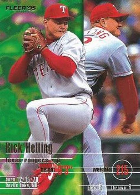 1995 Fleer #286 Rick Helling VG Texas Rangers