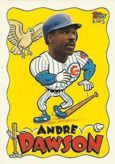 1992 Topps Kids #2 Andre Dawson NM-MT Chicago Cubs