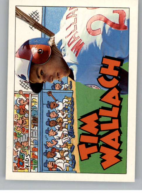 1992 Topps Kids #6 Tim Wallach NM-MT Montreal Expos