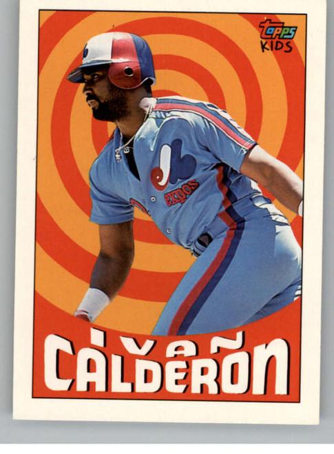 1992 Topps Kids #7 Ivan Calderon NM-MT Montreal Expos
