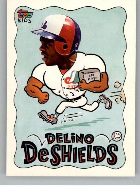 1992 Topps Kids #9 Delino DeShields NM-MT Montreal Expos