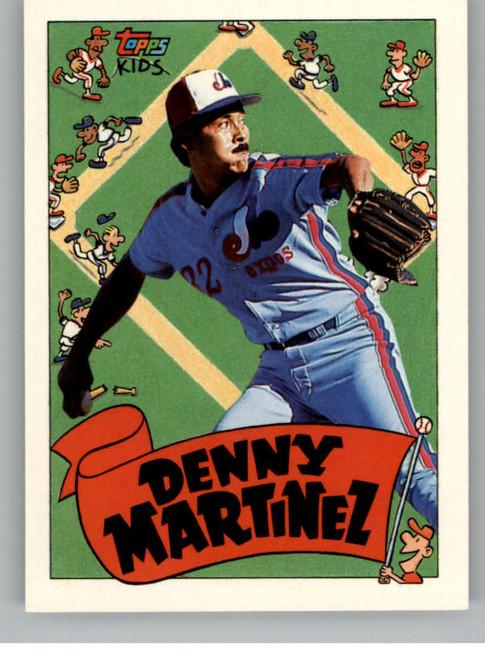 1992 Topps Kids #10 Dennis Martinez NM-MT Montreal Expos