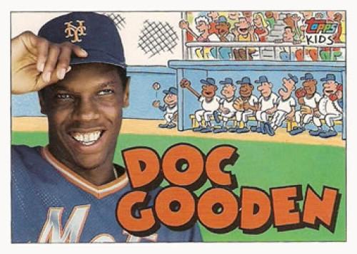 1992 Topps Kids #11 Dwight Gooden NM-MT New York Mets