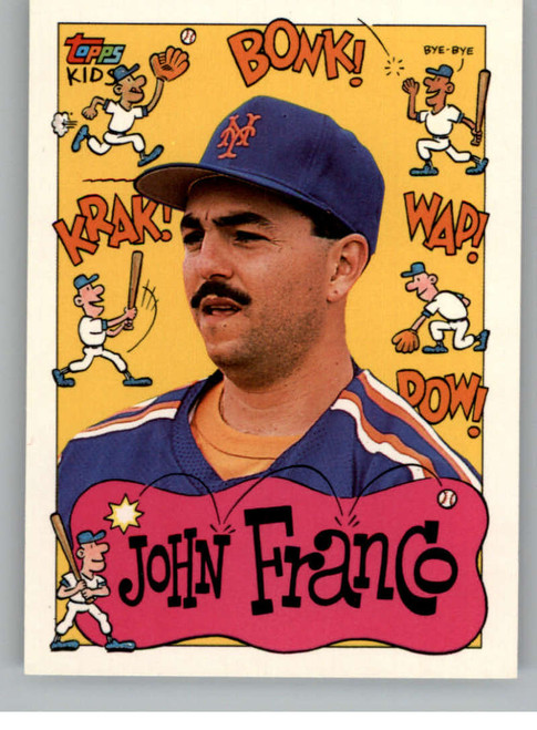 1992 Topps Kids #13 John Franco NM-MT New York Mets