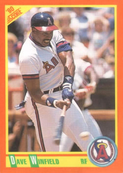 1990 Score Rookie and Traded #1T Dave Winfield NM-MT  California Angels