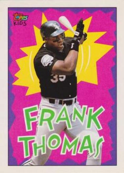 1992 Topps Kids #99 Frank Thomas NM-MT Chicago White Sox