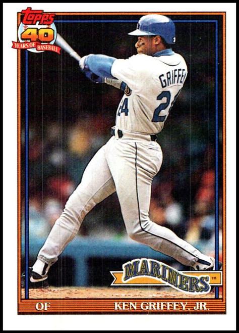 1991 Topps #790 Ken Griffey Jr. VG Seattle Mariners