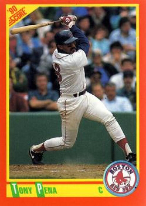 1990 Score Rookie and Traded #7T Tony Pena NM-MT  Boston Red Sox