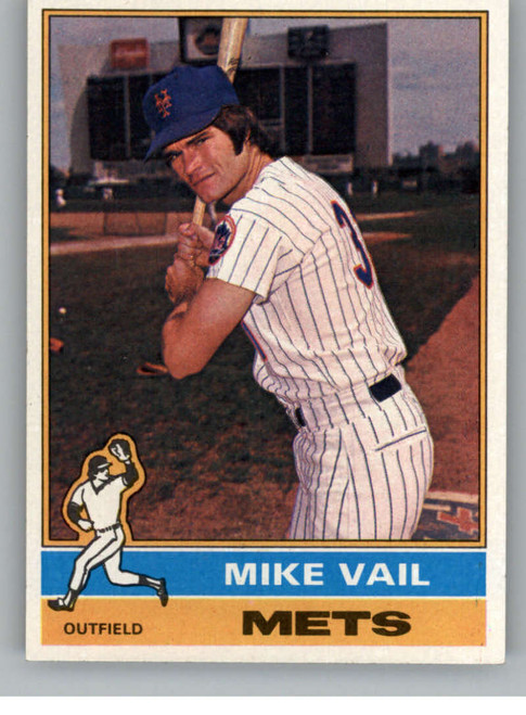 1976 Topps #655 Mike Vail VG RC Rookie New York Mets