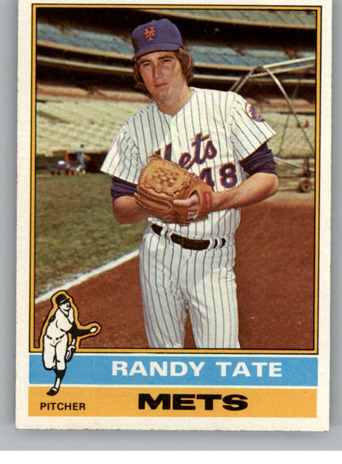 1976 Topps #549 Randy Tate VG RC Rookie New York Mets