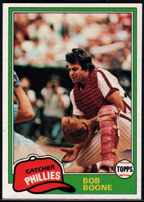 1981 Topps #290 Bob Boone DP VG Philadelphia Phillies