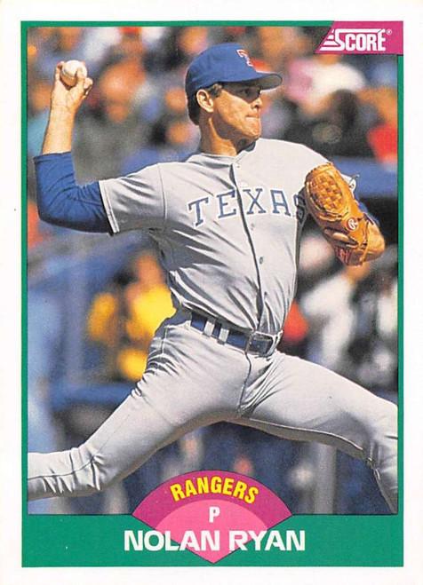 1989 Score Rookie/Traded #2T Nolan Ryan VG Texas Rangers