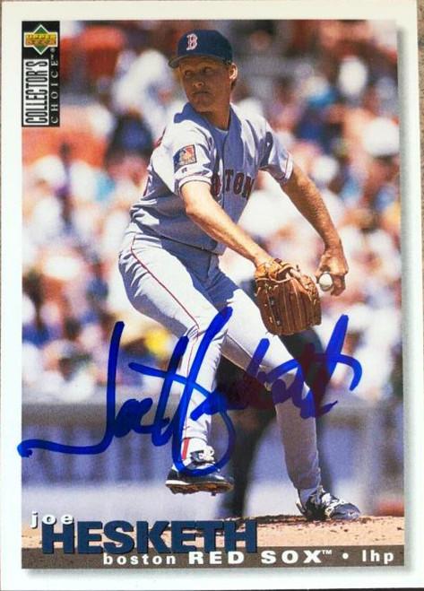 Joe Hesketh Autographed 1995 Collectors Choice #416
