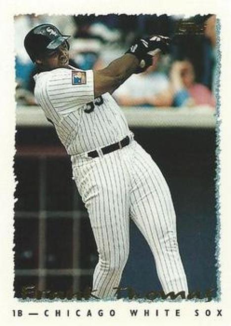 1995 Topps #1 Frank Thomas VG  Chicago White Sox