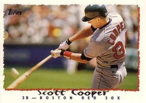 1995 Topps #4 Scott Cooper VG  Boston Red Sox