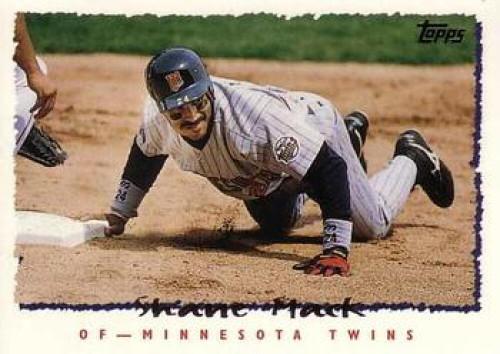 1995 Topps #8 Shane Mack VG  Minnesota Twins