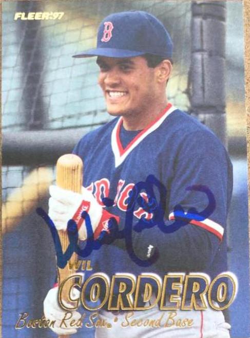 Wil Cordero Autographed 1997 Fleer #20