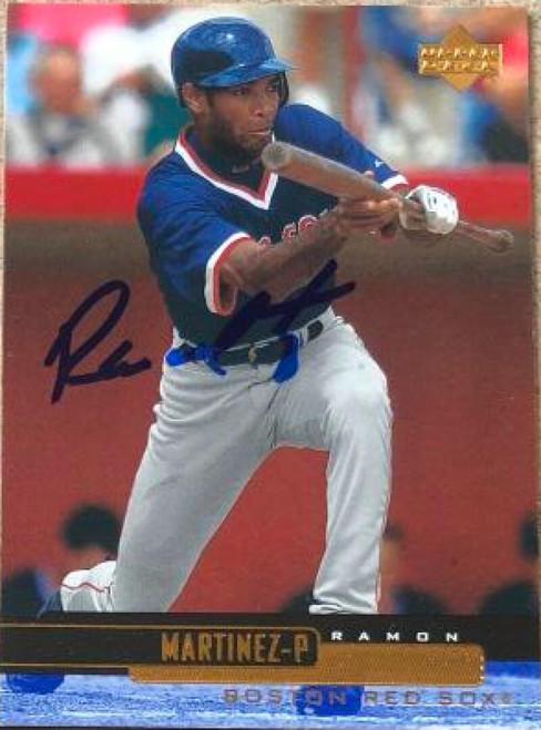 Ramon Martinez Autographed 2000 Upper Deck #334