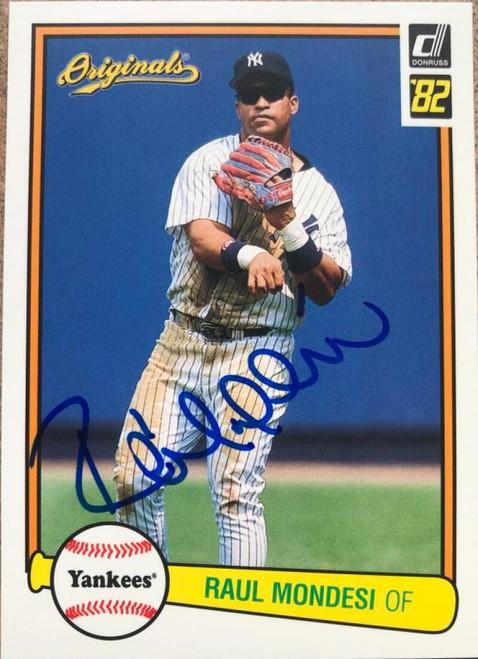 Raul Mondesi Autographed 2002 Donruss Originals #73