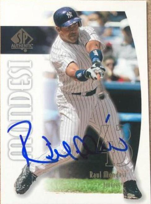 Raul Mondesi Autographed 2002 SP Authentic #187