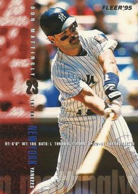 1995 Fleer #76 Don Mattingly VG New York Yankees