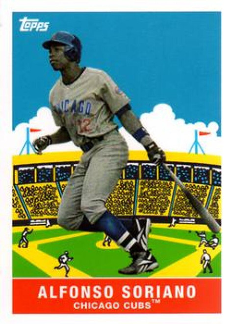 2007 Topps Flashback Fridays #FF6 Alfonso Soriano NM-MT Chicago Cubs