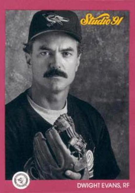 1991 Studio #2 Dwight Evans NM-MT  Baltimore Orioles