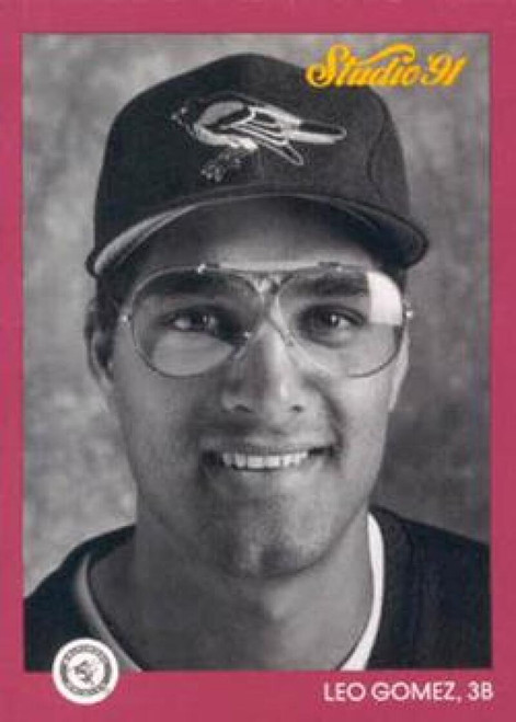 1991 Studio #3 Leo Gomez NM-MT  Baltimore Orioles