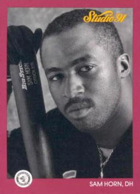1991 Studio #5 Sam Horn NM-MT  Baltimore Orioles