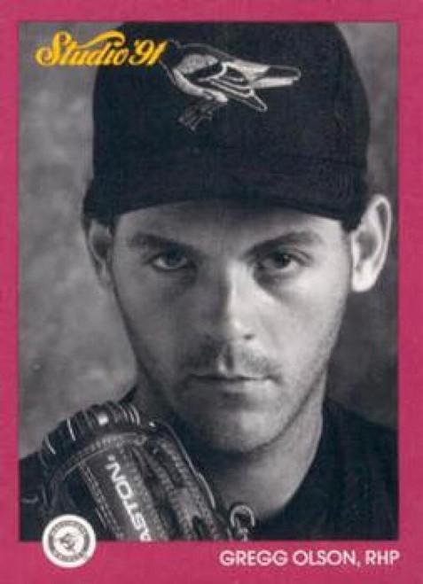 1991 Studio #8 Gregg Olson NM-MT  Baltimore Orioles