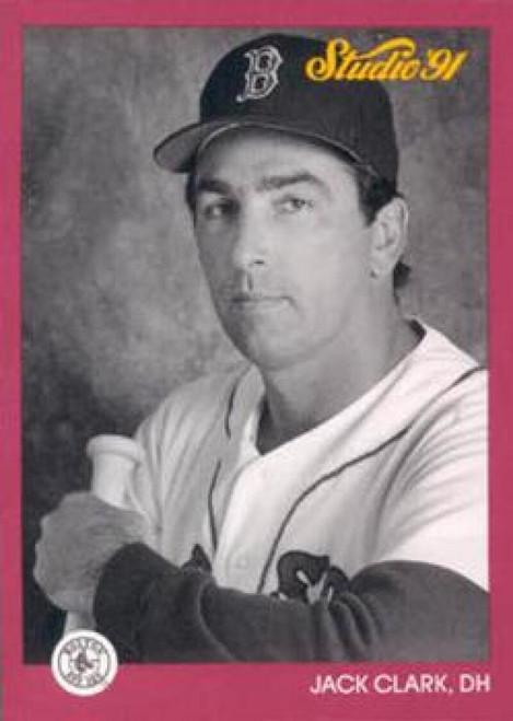 1991 Studio #13 Jack Clark NM-MT  Boston Red Sox
