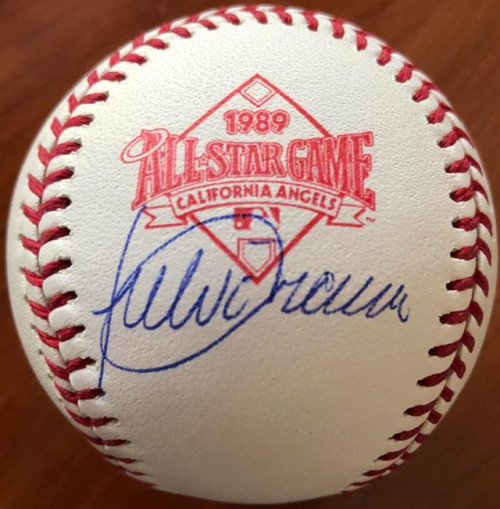 Julio Franco Autographed 1989 All-Star Game Baseball