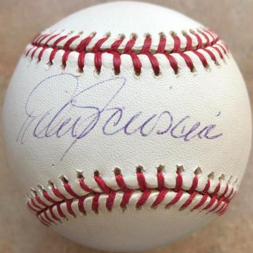 Mike Scioscia Autographed ROMLB Baseball