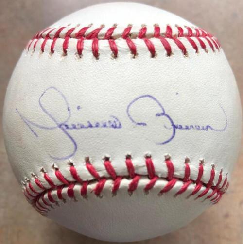 Mariano Rivera Autographed ROMLB Baseball