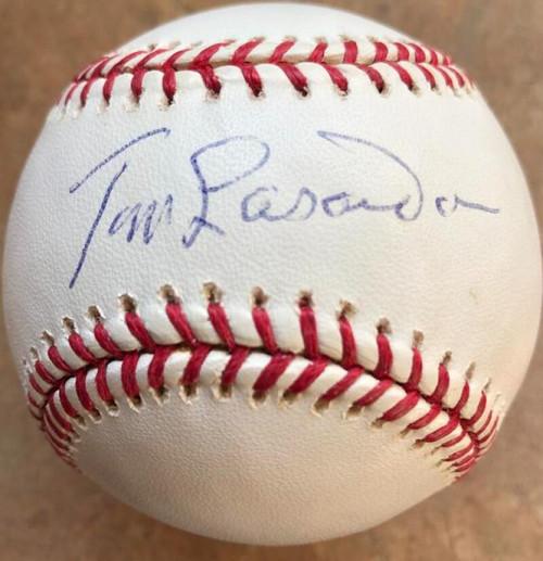 Tommy Lasorda Autographed ROMLB Baseball