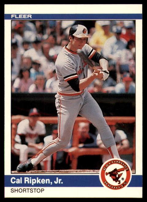 1984 Fleer #17 Cal Ripken Jr. VG Baltimore Orioles