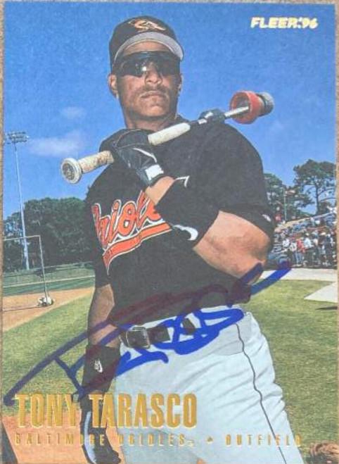 Tony Tarasco Autographed 1996 Fleer Update #U9