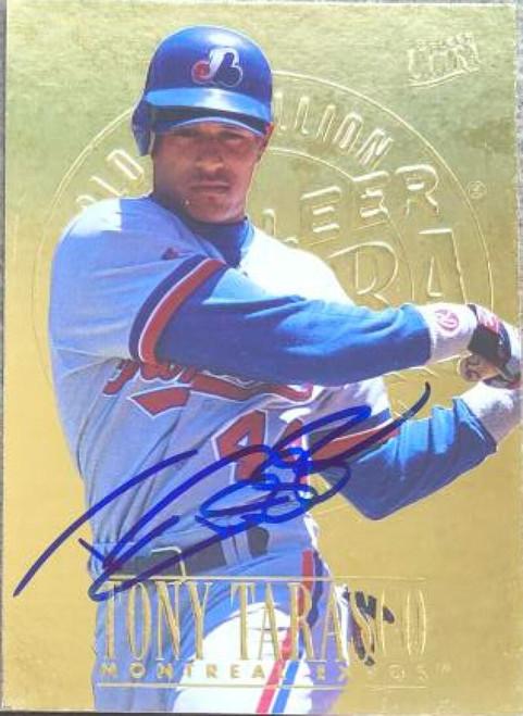 Tony Tarasco Autographed 1996 Fleer Ultra Gold Medallion #237